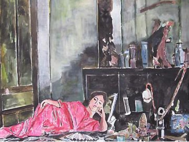'Opium', painting by Bob Dylan