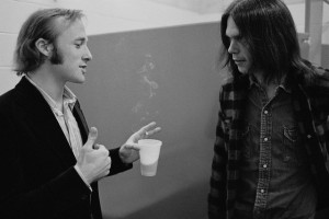Stephen Stills and Neil Young Talking
