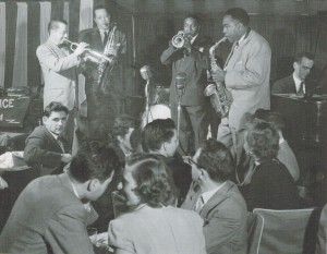 Max Kaminsky, Lester Young, Hot Lips Page, Charlie Parker, Lennie Tristano
