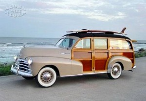 Woodie, including back seat