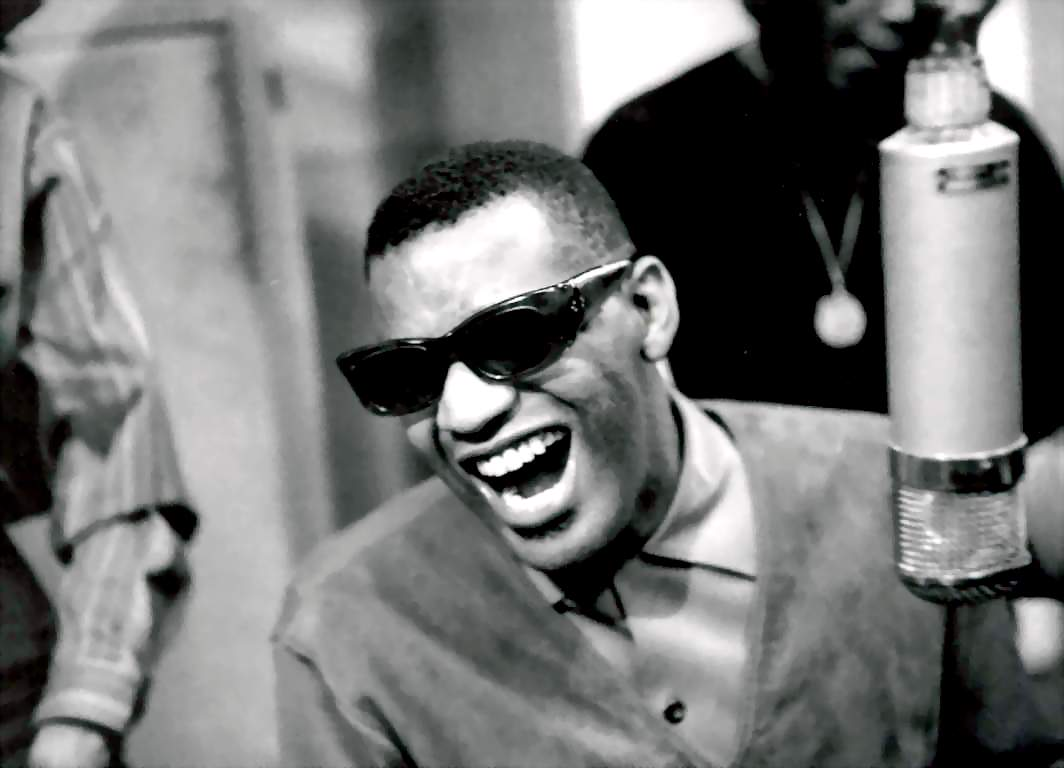 Ray Charles Wife does know  and for all the