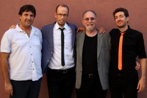 L2R: Ron Gang, Kevin Fox, Jeff Meshel, Erez Tal