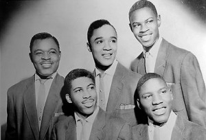 The Drifters (Ben E. King lower left)