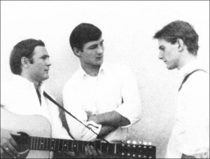 The Jet Set, 1964 L to R: Crosby, Clark, McGuinn
