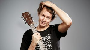 LONDON, UNITED KINGDOM - MARCH 20: Portrait of English singer-songwriter Ben Howard, taken on March 20, 2013. (Photo by Joby Sessions/Total Guitar Magazine via Getty Images)
