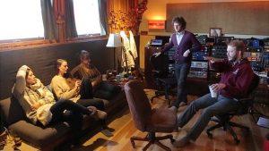 In Justin Vernon's studio