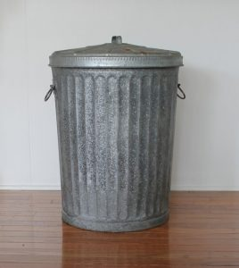 Original legendary Columbia trash can